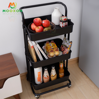 High-Quality Indoor Home Kitchen Multifunction Trolley Rolling Basket In Hand Cart