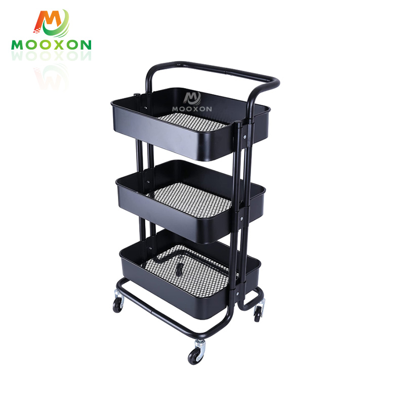 Contracted Restaurant Four-Wheel In Hand Cart Trolley Home Storage