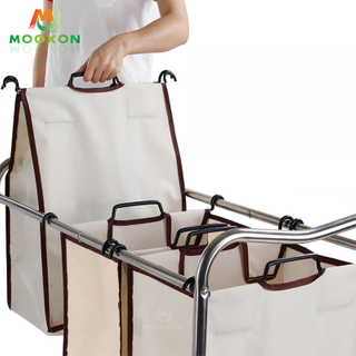 Good Capacity Multi-Function Storage Holder Home Clothes To Store Trolley Cart