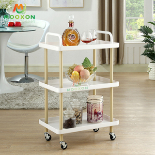 Home Storage Rolling Trolley Rack Design Kitchen Storage Shelf With Handles