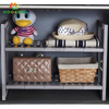 Easy To Disassemble 2 Tier Multifunction Countertop Shelf Organizer Rack