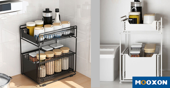 Under The Sink Storage Rack