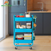 High-Quality Indoor Home Kitchen Multifunction In Hand Cart Trolley