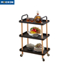 3 Tier Rolling Hand Cart Storage Rack Kitchen Bathroom Furniture Service Trolley Carts