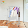 Metal Adjustable Display Case Clothes Display Shelf Hanging Clothes Rack