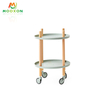 Easy To Instal Living Room Metal Rolling In Hand Cart Trolley Kitchen Storage Holder