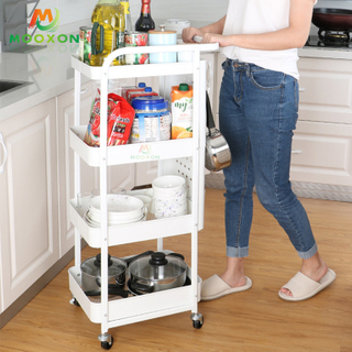 Add to CompareShare 2020 New Home Indoor Bathroom 3 Tier Trolley Storage Used Rack And Trolley