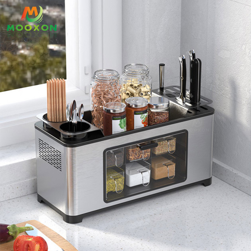 Space Save Multi-function Storage Container Box Kitchen Spice Rack with Drawers