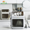 2 Tiers High Quality Plastic Drying Rack Kitchen Organizer Storage Shelf Dish Cabinet