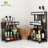 Stainless Steel Storage Racks And Shelves Kitchen Organizer Spice Rack