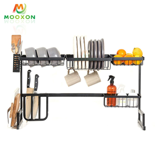 79cm High Quality Kitchen Shelf Utensils Organizer Dish Drainer Drying Rack