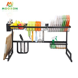 High Capacity 91cm Metal Cabinet Under The Sink Organizer Storage Drawers